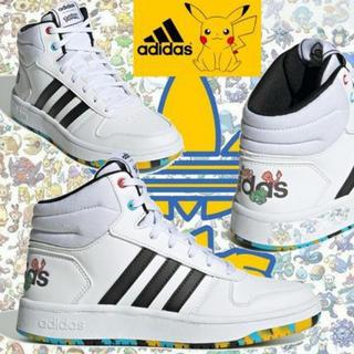 adidas - adidas x ポケモン★キッズ HOOPS MID 2.0K 18.5㎝