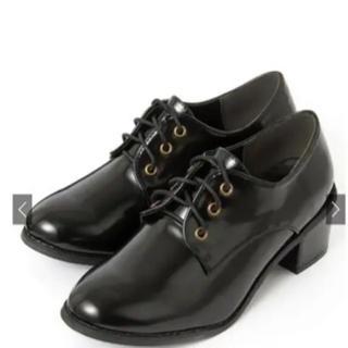 グレイル(GRL)のGRL : 太ヒールレースアップシューズ(ローファー/革靴)