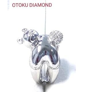 ポンテヴェキオ ベア ダイヤモンドリング(リング(指輪))