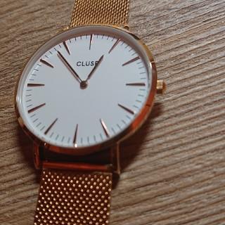 ビューティアンドユースユナイテッドアローズ(BEAUTY&YOUTH UNITED ARROWS)のCLUSE 腕時計 ゴールドメッシュ(腕時計)