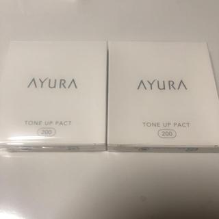 アユーラ(AYURA)のアユーラ トーンアップパクト 200 9g 2個(ファンデーション)