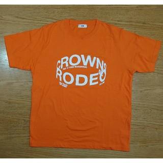 ロデオクラウンズワイドボウル(RODEO CROWNS WIDE BOWL)のRCWB 半袖Tシャツ XL オレンジ ロデオクラウン(Tシャツ/カットソー(半袖/袖なし))