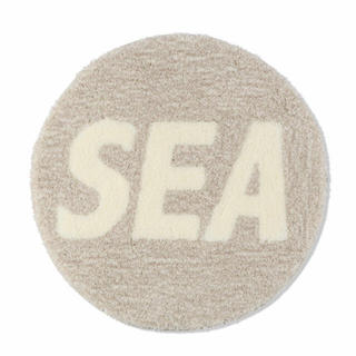 WIND AND SEA (ROUND) MAT / GRAY (AC-87)(ラグ)