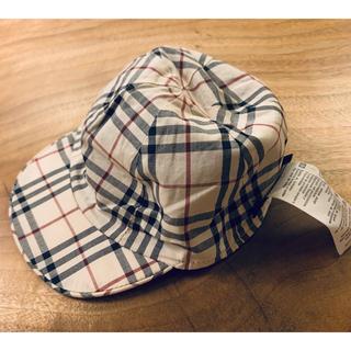 バーバリー(BURBERRY)のBurberry キャップ ベビー帽子(帽子)