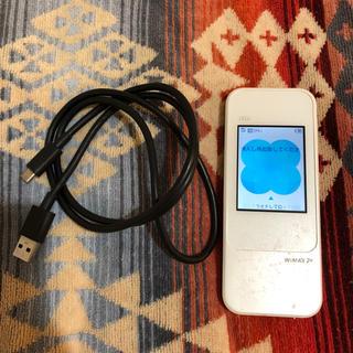 エーユー(au)のau Speed Wi-Fi NEXT W04(PC周辺機器)
