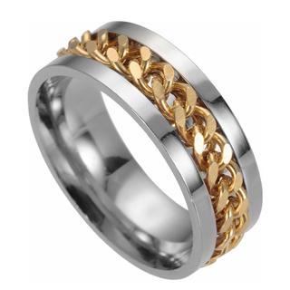 567 チタン 指輪 米国基準10号 チタン ステンレス 鋼 リング メンズ(リング(指輪))
