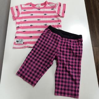 サンカンシオン(3can4on)の3カン4オン Tシャツ パンツ セット 95cm(Tシャツ/カットソー)