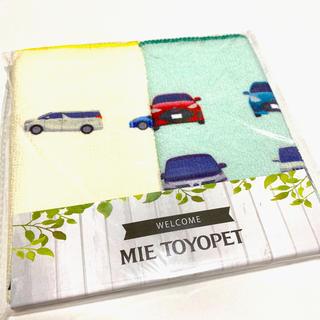 トヨタ(トヨタ)のトヨペット TOYOTA トヨタ 限定 販促 非売品 粗品 ハンドタオル 2種(その他)