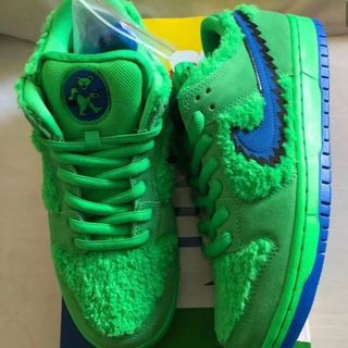 GRATEFUL DEAD NIKE SB DUNK LOW GREEN(スニーカー)