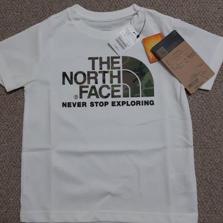 THE NORTH FACE - 新品 Tシャツ カモロゴティー ホワイト 110