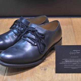 ヨウジヤマモト(Yohji Yamamoto)のyohji yamamoto レザーシューズ ヨウジヤマモト y's 靴 42(ドレス/ビジネス)