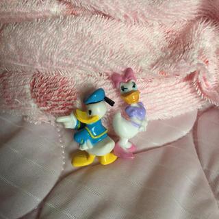 デイジー(Daisy)のドナルド と  ディジ− 超ミニフィギュア(キャラクターグッズ)