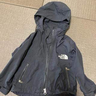 ザノースフェイス(THE NORTH FACE)のノースフェイス キッズ ベビー コンパクトジャケット 黒 ブラック (ジャケット/コート)