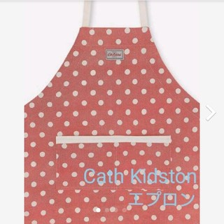 キャスキッドソン(Cath Kidston)のキャスキッドソン 新品ドット エプロン(その他)