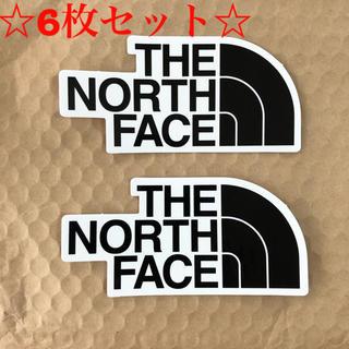 ザノースフェイス(THE NORTH FACE)のノースフェイス ステッカー 6枚セット(シール)