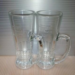サントリー(サントリー)のプレミアムモルツビアジョッキ2個(グラス/カップ)
