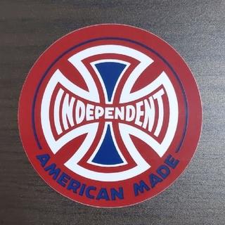 インディペンデント(INDEPENDENT)の(直径9cm)INDEPENDENT ステッカー(スケートボード)