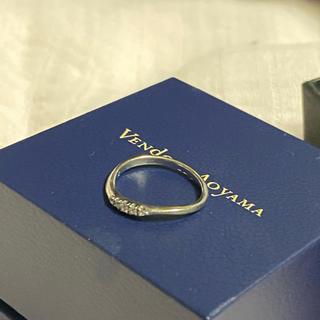 ヴァンドームアオヤマ(Vendome Aoyama)の美品 プラチナpt950刻印ダイヤ 2号 Vendome Aoyama リング(リング(指輪))
