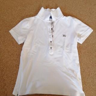 バーバリーブルーレーベル(BURBERRY BLUE LABEL)のバーバリーブルーレーベルポロシャツカットソー(ポロシャツ)