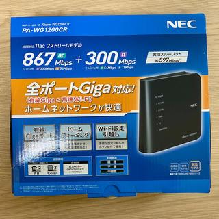 NEC - Wi-Fi ホームルーター PA-WG1200CR