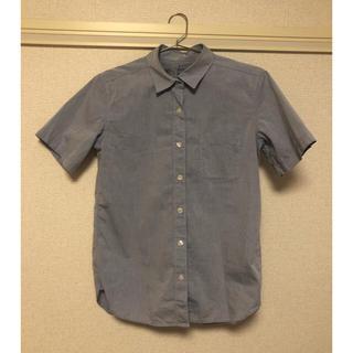 ムジルシリョウヒン(MUJI (無印良品))の無印良品 半袖シャツ Sサイズ(シャツ/ブラウス(半袖/袖なし))