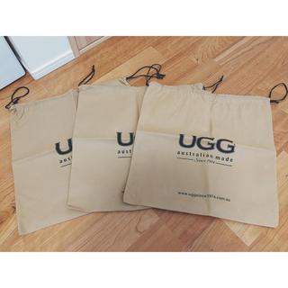 アグ(UGG)のUGG 布袋 巾着 ショップ袋(ショップ袋)