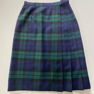 ドゥファミリー(DO!FAMILY)のマミーナ ブラックウォッチ スカート (ひざ丈スカート)