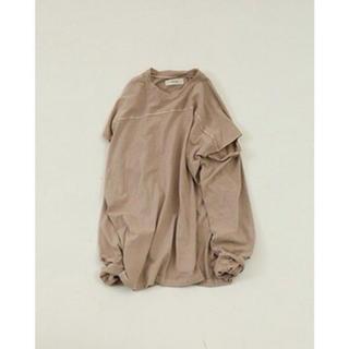 トゥデイフル(TODAYFUL)の TODAYFUL   Sleeve Slit Long T-Shirts(Tシャツ(長袖/七分))