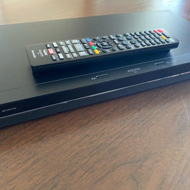 AQUOS(アクオス)のSHARP AQUOS ブルーレイ BD-NW1100 スマホ/家電/カメラのテレビ/映像機器(ブルーレイレコーダー)の商品写真