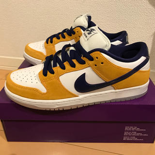 ナイキ(NIKE)のNIKE SB DUNK LOW PRO LASER ORANGE 27.5cm(スニーカー)