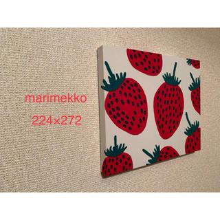 マリメッコ(marimekko)のマリメッコ ピエニマンシッカ ハンドメイドファブリックパネル(インテリア雑貨)