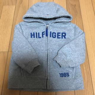 トミーヒルフィガー(TOMMY HILFIGER)のトミーヒルフィガー  キッズ 長袖 パーカー 2T  90(ジャケット/上着)