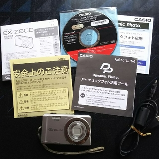 カシオ(CASIO)のCASIO EXILIM デジタルカメラ(コンパクトデジタルカメラ)