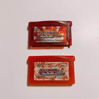 ゲームボーイアドバンス(ゲームボーイアドバンス)のポケットモンスター ルビー ファイアレッド(携帯用ゲームソフト)