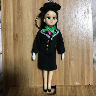 バービー(Barbie)の40年前のリカちゃんバスガイド人形新品(ぬいぐるみ/人形)