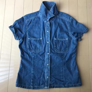 ギャップ(GAP)のGAP レディースシャツ デニム(シャツ/ブラウス(半袖/袖なし))
