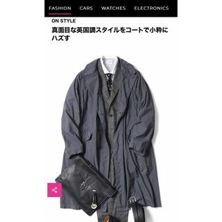 コモリ(COMOLI)の新古 TEATORA テアトラ Device coat グレー 3 comoli(ステンカラーコート)