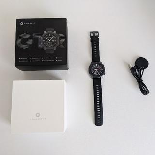 まお様専用 amazfit gtr 42mm グローバル版(腕時計(デジタル))