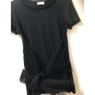 レッドヴァレンティノ(RED VALENTINO)の❤️ヴァレンティノ    リュクス  トップス Tシャツ タグ付 未使用(Tシャツ(半袖/袖なし))