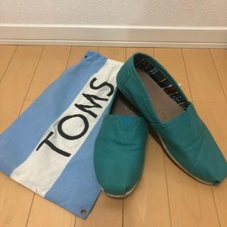 トムズ(TOMS)の【TOMS】メンズ スリッポン us8.5(スリッポン/モカシン)
