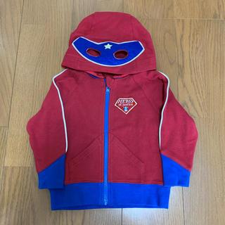 クレードスコープ(kladskap)のクレードスコープ☆ヒーローマスクパーカー☆100サイズ(カーディガン)