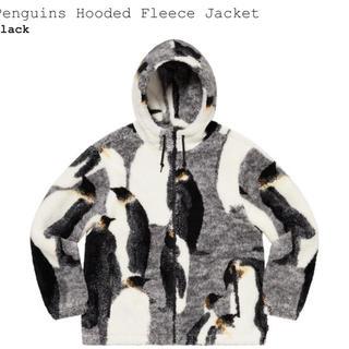 シュプリーム(Supreme)のSupreme Penguins hooded fleece jacket XL(ブルゾン)