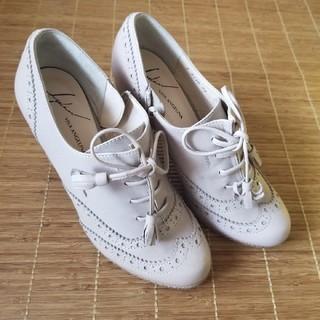 ビバアンジェリーナ(VIVA ANGELINA)のビバアンジェリーナ新品チャンキーヒールジップパンプス靴百貨店購入(ハイヒール/パンプス)