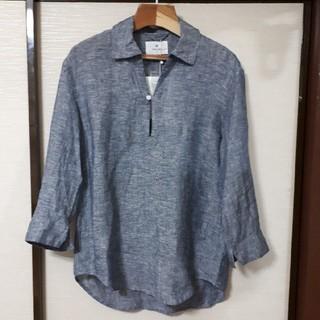 サニーレーベル(Sonny Label)のアーバンリサーチサニーレーベル リネン七分袖スキッパーシャツ 新品未使用(シャツ)