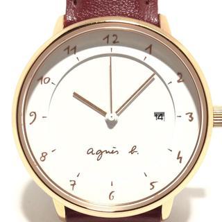 アニエスベー(agnes b.)のアニエスベー 腕時計 - VJ12-KY40 ボーイズ(腕時計)