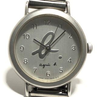 アニエスベー(agnes b.)のアニエスベー 腕時計 - V701-6210 シルバー(腕時計)