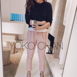 バーニーズニューヨーク(BARNEYS NEW YORK)のyoko chan ヨーコチャン♡裾フリルチュニックニット(ニット/セーター)