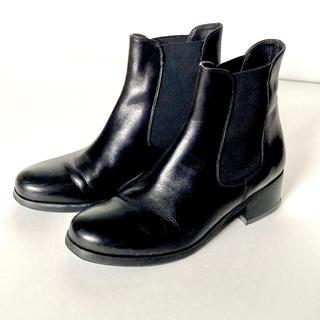 ファビオルスコーニ(FABIO RUSCONI)のFABIO RUSCONI サイドゴアブーツ ショートブーツ サイズ35(ブーツ)