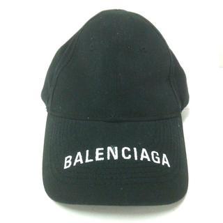 バレンシアガ(Balenciaga)のバレンシアガ キャップ L 58 黒 コットン(キャップ)
