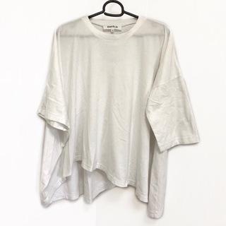 エンフォルド(ENFOLD)のエンフォルド 七分袖Tシャツ サイズ38 M 白(Tシャツ(長袖/七分))